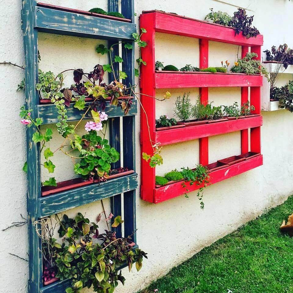 Pallet Projects Outdoor Plants
