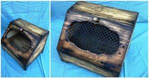 Wood Pallet Bread Box / Bread Holder