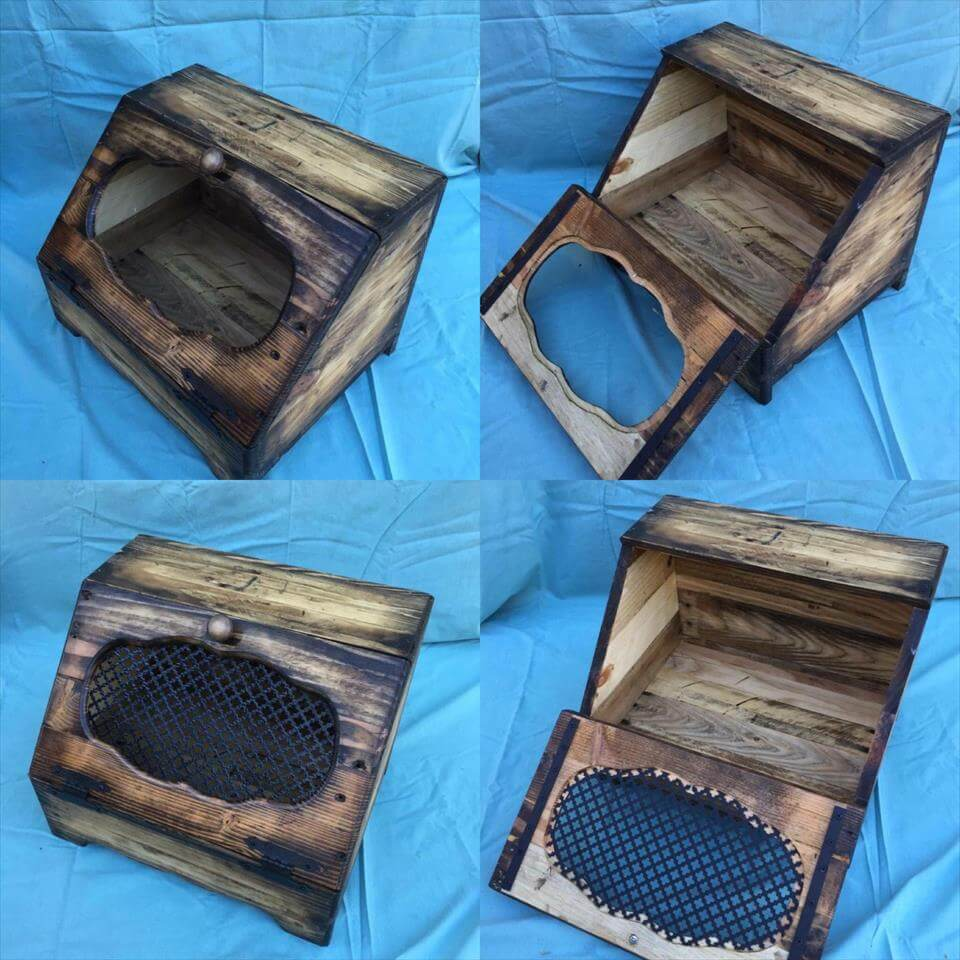 pallet bread box