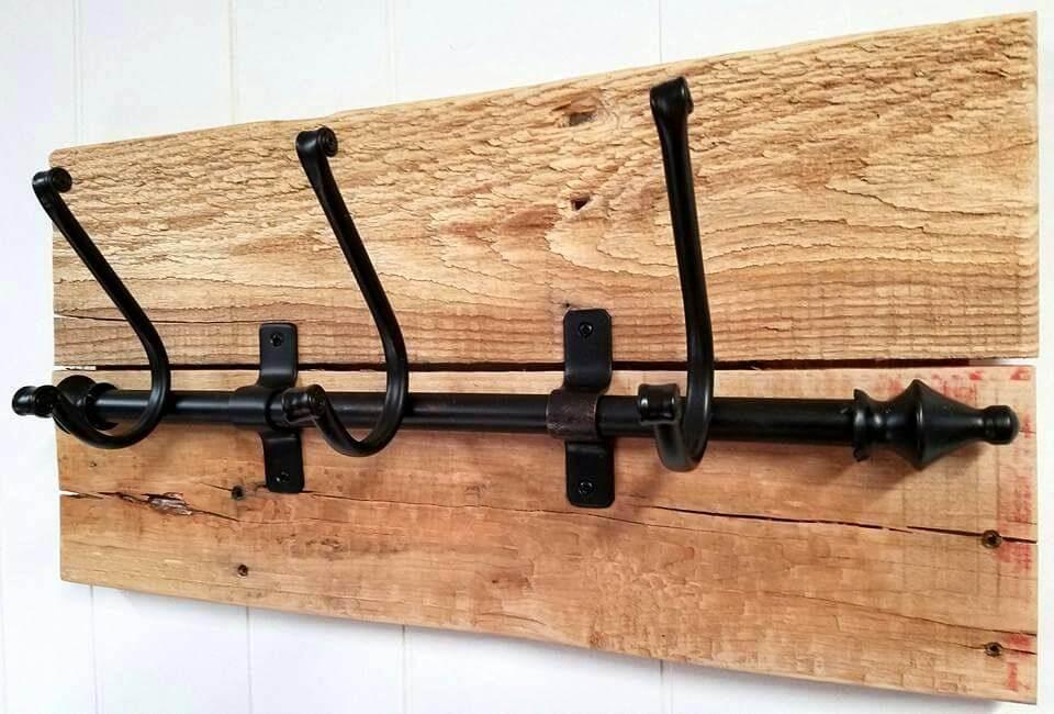 Wood Pallet Coat Rack Pallets Pro