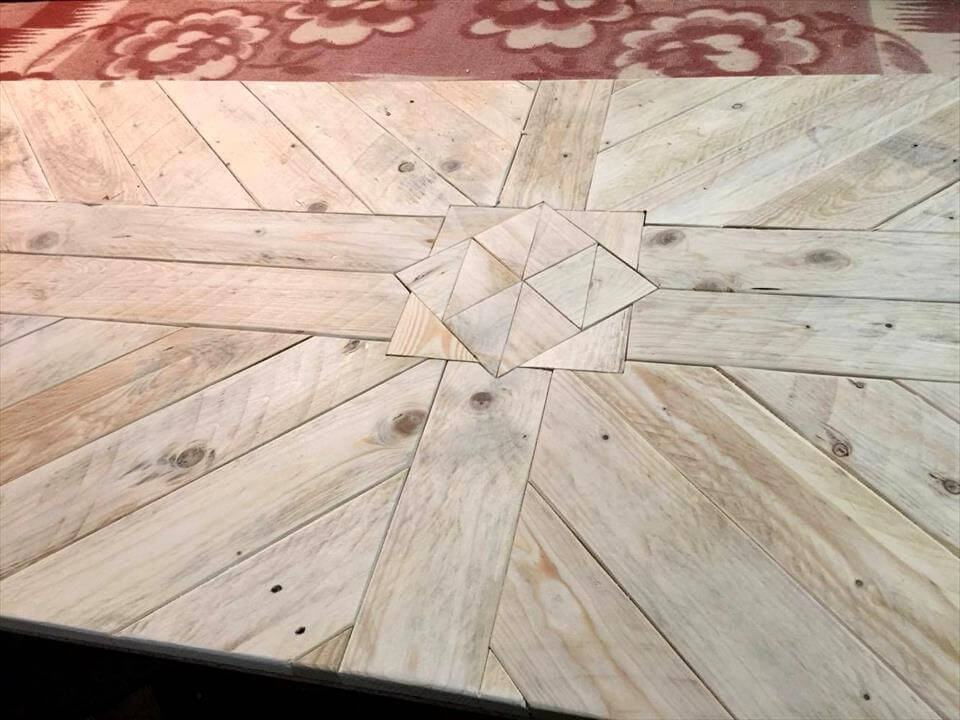 lovely pallet dining table top