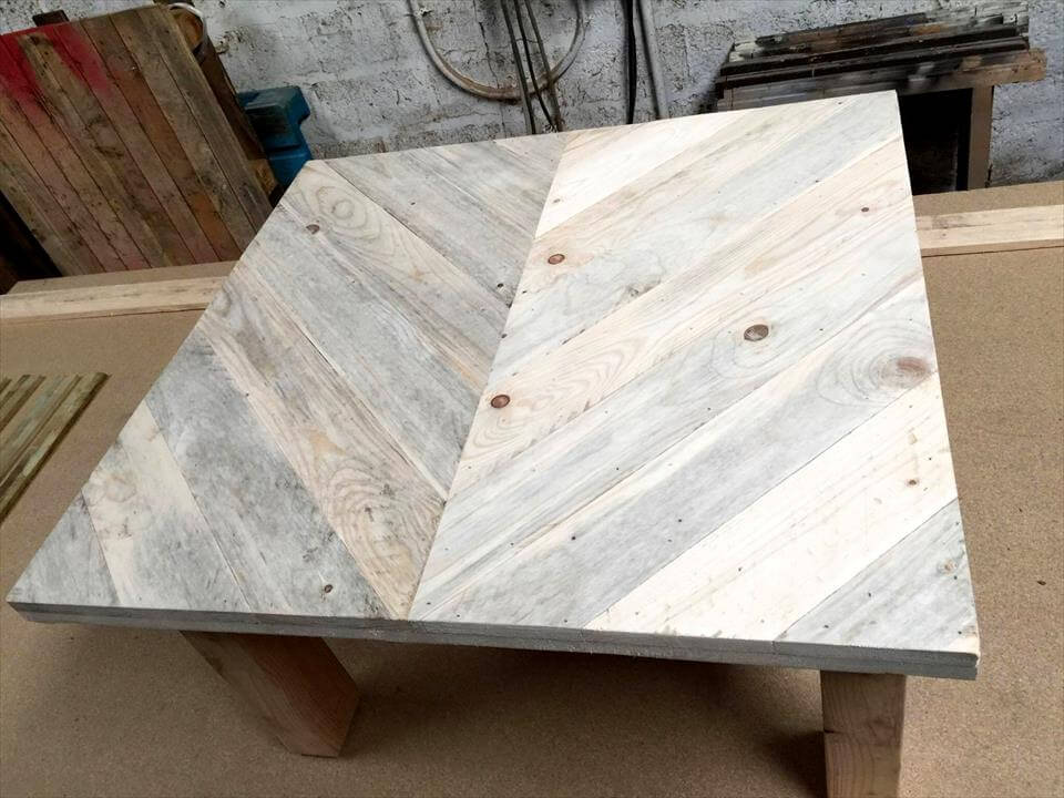cute pallet coffee table