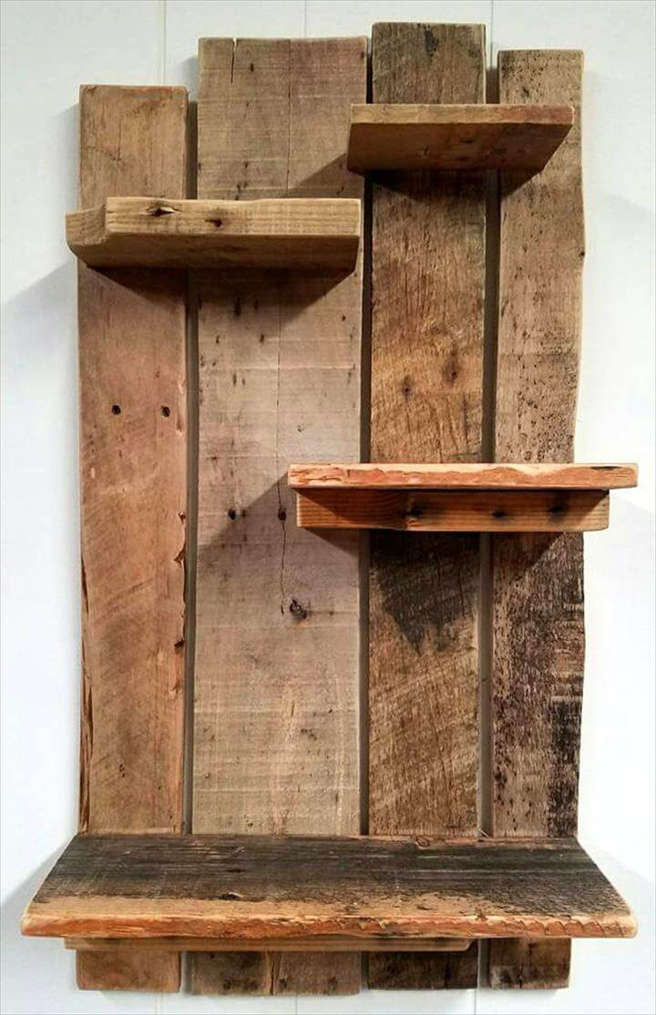 Pallet Shelf for Wall Decoration - Pallets Pro