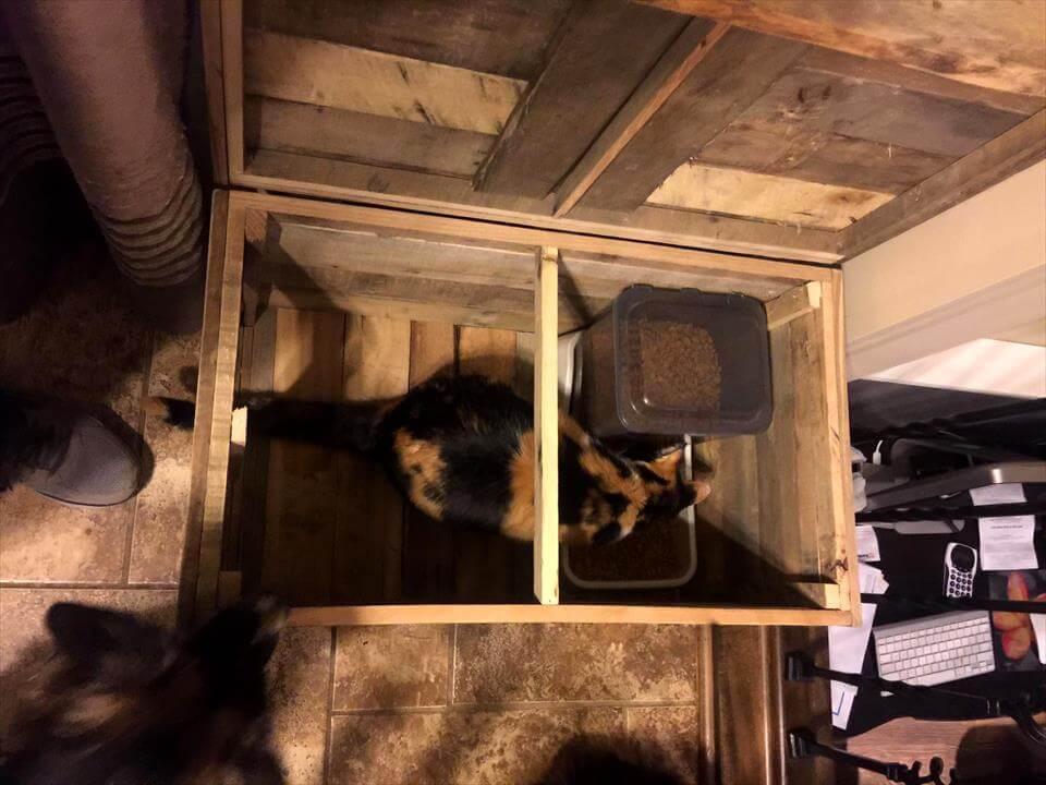 Pallet Cat House Diy Pallets Pro