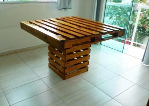 awesome pallet dining table design