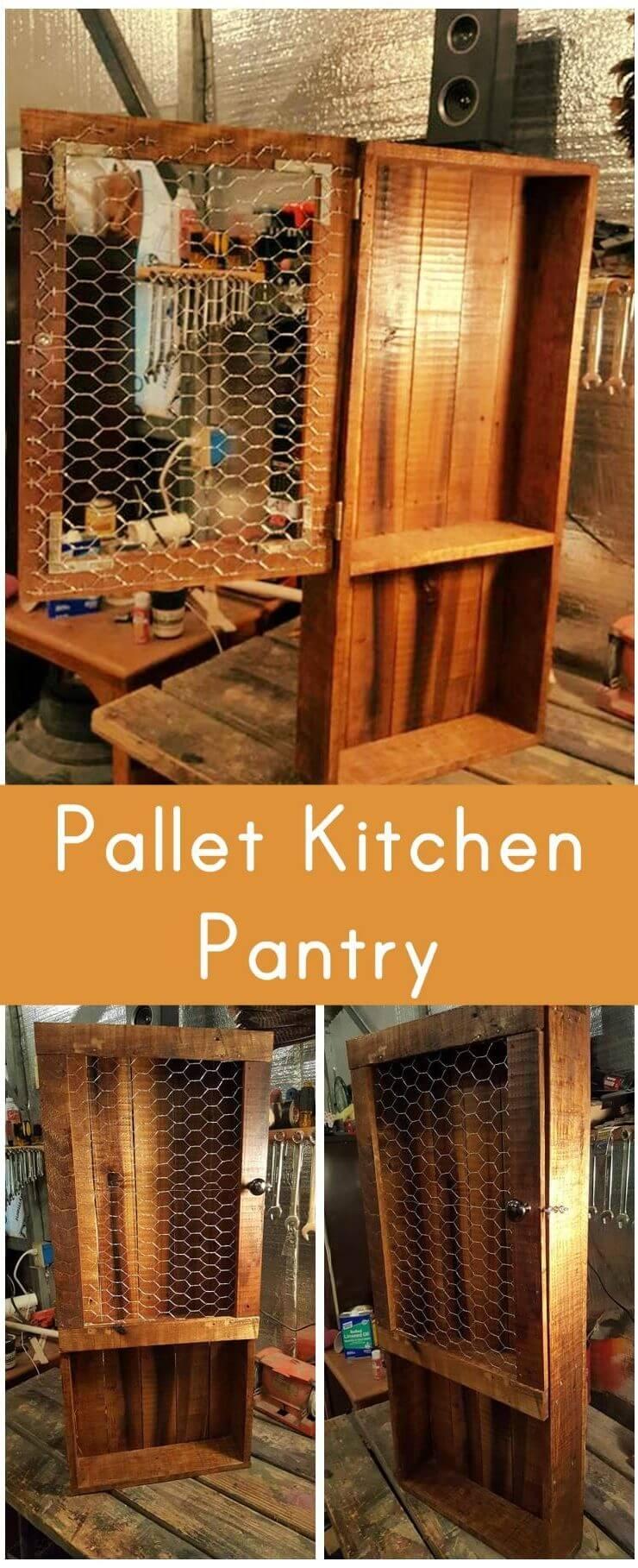 Pallet Kitchen Pantry