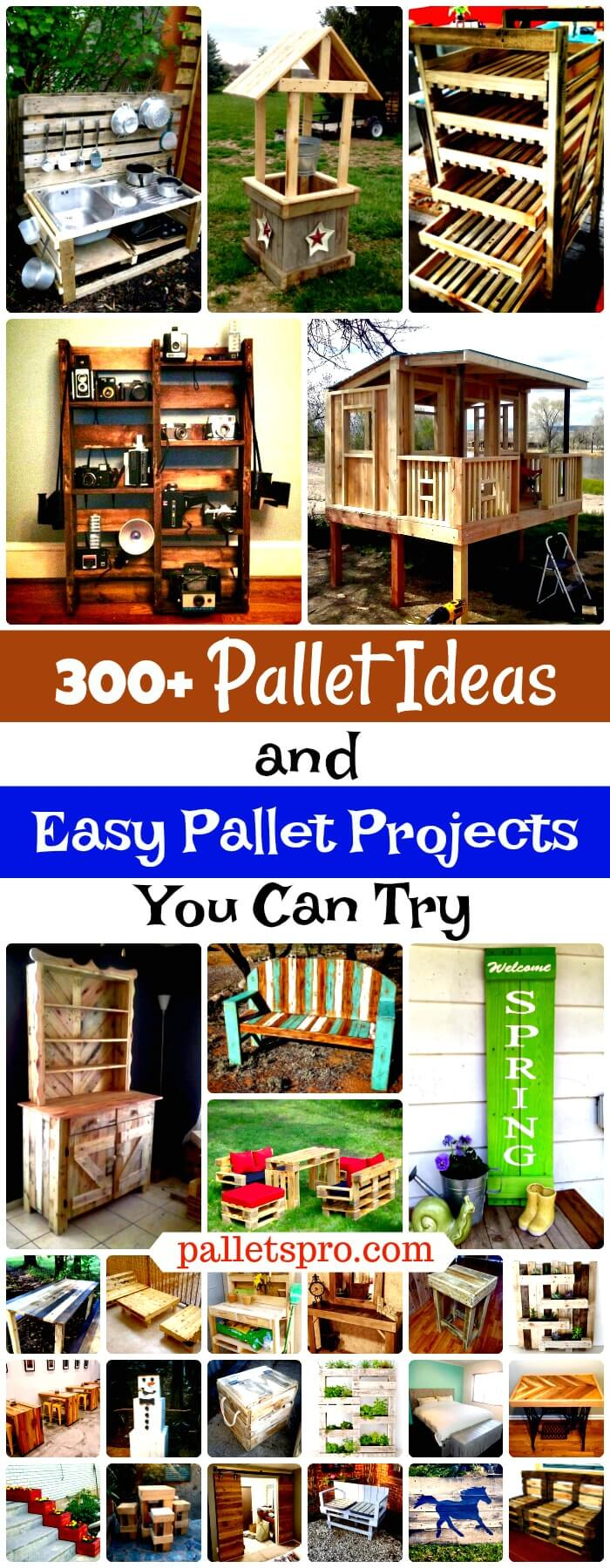 Garden Centre: 300+ Pallet Ideas And Easy Pallet Projects You Can Try