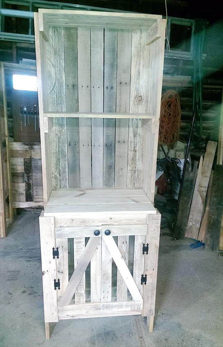 300 pallet ideas and easy pallet projects you can try for White painted pallets