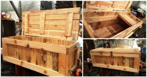 DIY Pallet Trunk / Pallet Chest