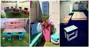 DIY Awesome Pallet Ideas to Make Your Home Better