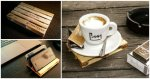 DIY Wooden Pallet Coasters