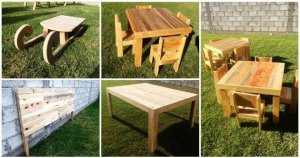 Unique Pallet Projects For Outdoor